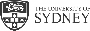 University of Sydney Crest with the words The University of Sydney on the right of the Crest